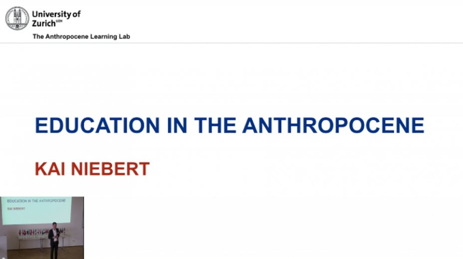 Education in the Anthropocene - Kai Niebert