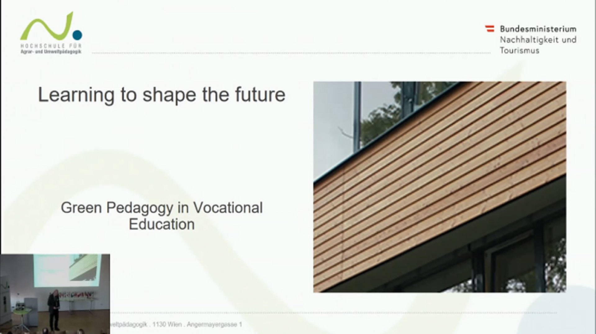 Learning to shape the Future - Prof. Mag. Wilhelm Linder