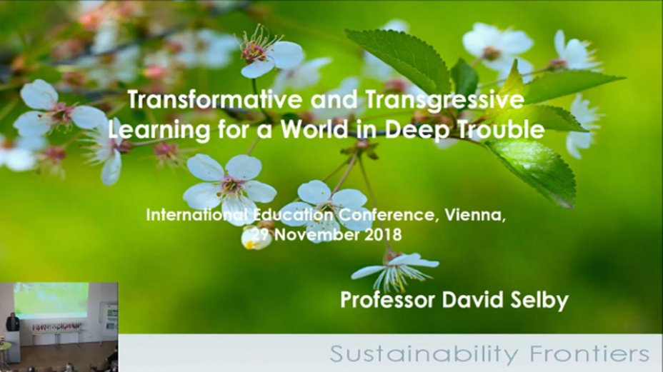 Transformative and Transgressivs - Prof.D.Selby